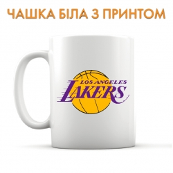 Чашка Lakers logo