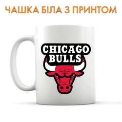 Чашка Chicago Bulls logo