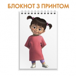 Блокнот Monsters Inc Little Girl