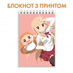 Блокнот My Two-Faced Little Sister Umaru Edition