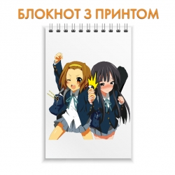 Блокнот K-On! Girls Print