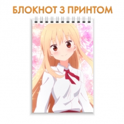 Блокнот My Two-Faced Little Sister Beautiful Umaru