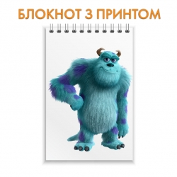Блокнот Monsters Inc James Sullivan