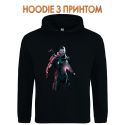 Худи с принтом Mass Effect Hero Print черный