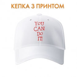 Кепка You can do it