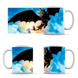 cup How to Train Your Dragon Flying Toothless