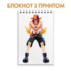 Блокнот One Piece Ace