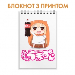 Блокнот My Two-Faced Little Sister Umaru Logo