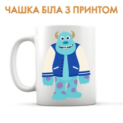 Cup Monsters Inc James P Sullivan Art