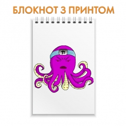 Блокнот One Piece Octopus