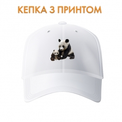 Кепка Big and small panda