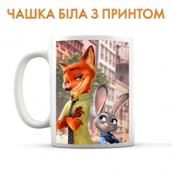 Zootopia Judy Hopps And Nick Wilde Cup
