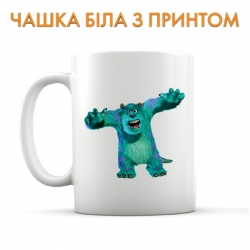 Cup Monsters Inc James P. Sullivan Angry