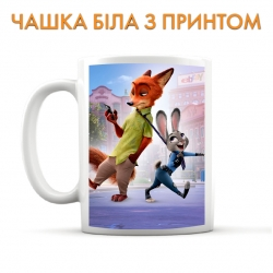 Zootopia Judy And Nick Cup