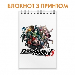 Блокнот Danganronpa All Heroes
