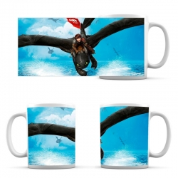 Cup How to Train Your Dragon Hiccup and Toothless at Sea