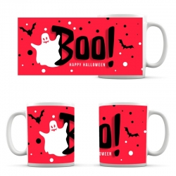 cup Halloween Boo Ghost