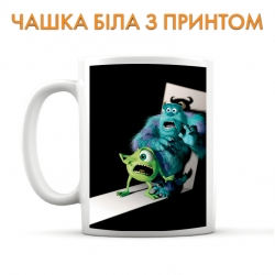 Cup Monsters Inc Scary Heroes