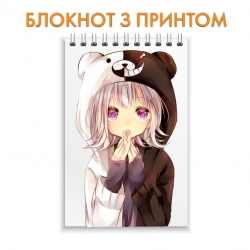Блокнот Danganronpa Monokuma Girl