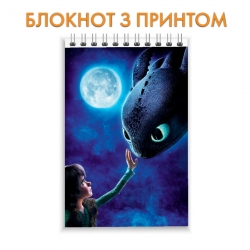 Notebook How to Train Your Dragon Moonlight