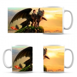 cup How to Train Your Dragon Friends Hiccup and Toothless
