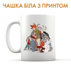 Zootopia Cup Cute Art