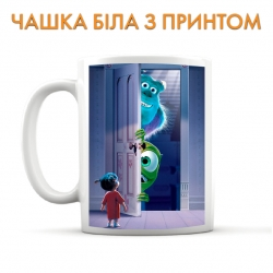 Cup Monsters Inc Door