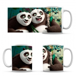Cup Panda Kung Fu Po And Father