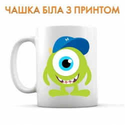 Cup Monsters Inc Mike Wazowski Art