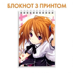 Блокнот High School DxD Irina Shidou
