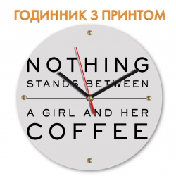 Часы Coffee and girl