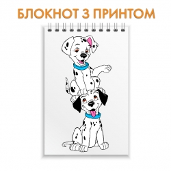 Блокнот 101 Dalmatians Puppies