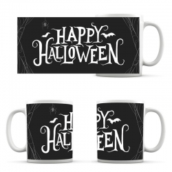 чашка Happy Halloween Black Cup