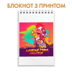 Блокнот Hotline Miami Bright Print