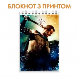 Блокнот 300 Spartans Spartan Hero Print