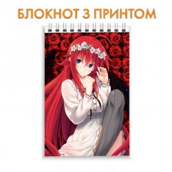 Блокнот High School DxD Rias Gremory Hero