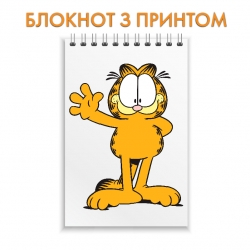 Notepad Garfield Cute Cat