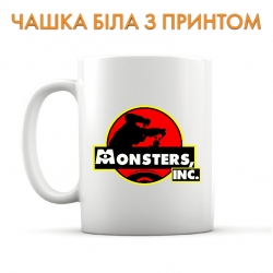 Cup Monsters Inc Logo