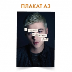 Плакат 13 Reasons Why Alex Hero