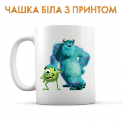 Cup Monsters Inc Friendly Heroes