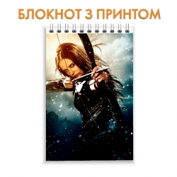 Блокнот 300 Spartans Spartan Girl