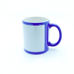 Blue fluorescent cup