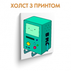 Холст Adventure Time Beemo art.100032