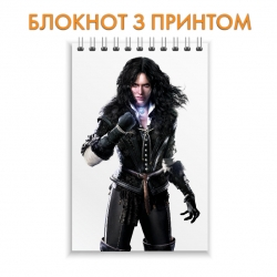 Блокнот The Witcher Yennefer of Vengerberg