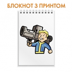 Блокнот Fallout Man With Gun
