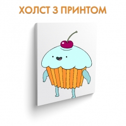 Холст Adventure Time Cherry Cake art.100035