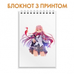 Блокнот Darling in the FranXX Amazing Zero Two Hero