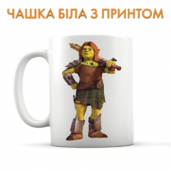 Cup Shrek Fiona With Sword