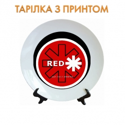 Тарелка Red Hot Chili Peppers