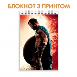 Блокнот 300 Spartans Spartan Print Hero